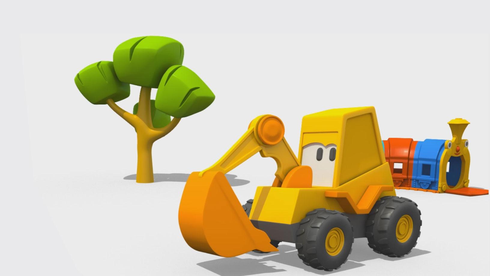 Cartoni animati per bambini amici di leo il camion